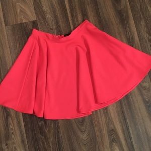 🎉Host Pick 🎉Pink Topshop Skater Skirt